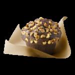 muffin choco noisette